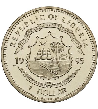 Liberia 1 dolar 1995, Star Trek