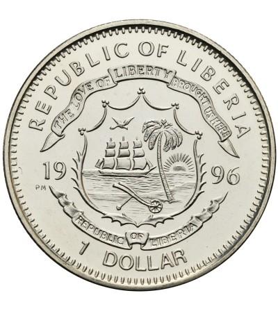 Liberia 1 dolar 1996, Chairman Mao Zedong