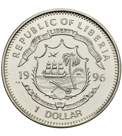 Liberia Dollar 1996, Chairman Mao Zedong
