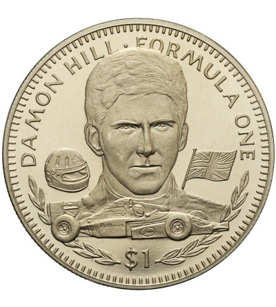 Liberia 1 dolar 1994, Damon Hill Formula One