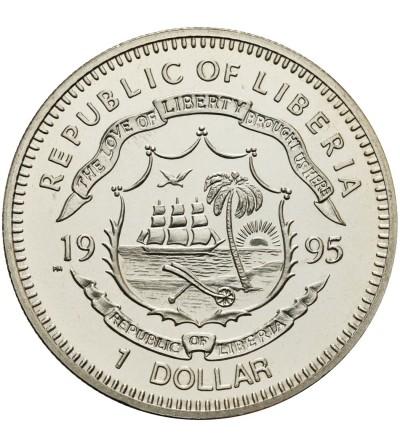 Liberia 1 dolar 1995, Franklin D. Roosvelt