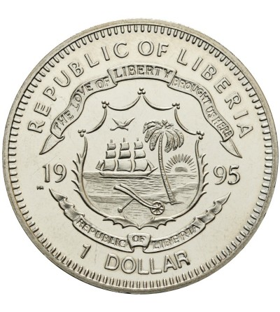 Liberia Dollar 1995, General George Patton