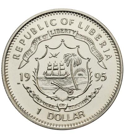 Liberia Dollar 1995, Sun Yat-Sen