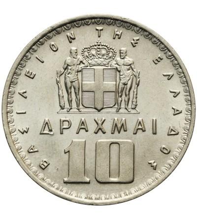 Grecja 10 drachm 1959