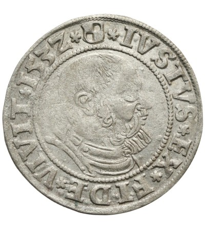 Prusy Książęce. Grosz 1532 Królewiec