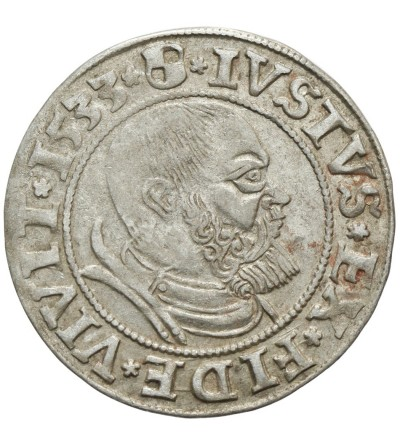 Prusy Książęce. Grosz 1533 Królewiec