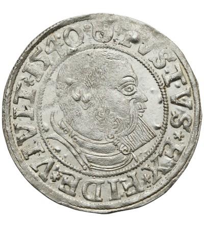 Prusy Książęce. Grosz 1540 Królewiec
