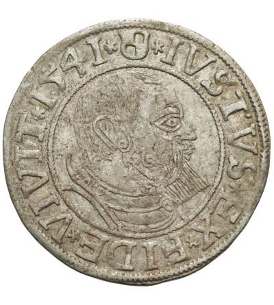 Prusy Książęce. Grosz 1541 Królewiec