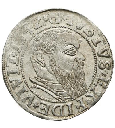 Prusy Książęce. Grosz 1542 Królewiec