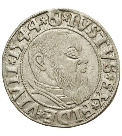 Prusy Książęce. Grosz 1544 Królewiec