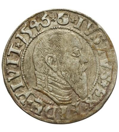 Prusy Książęce. Grosz 1546 Królewiec