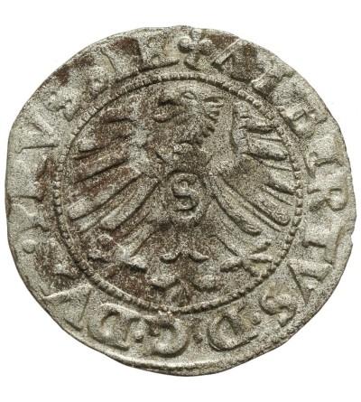 Prusy Książęce. Szeląg 1553 Królewiec