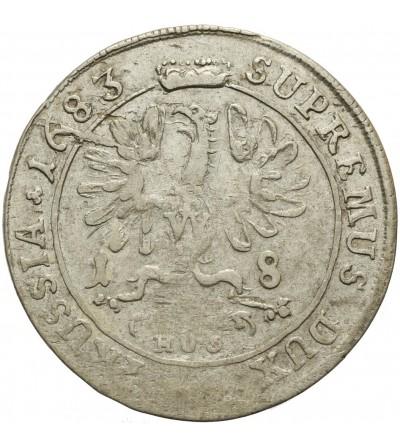 Prusy Książęce ort 1683 HS, Królewiec