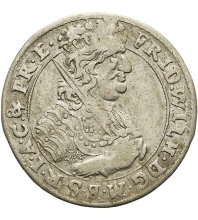 Prusy Książęce ort 1684 HS, Królewiec