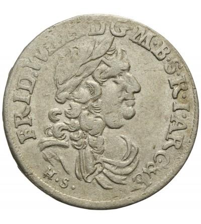 Prusy Książęce szóstak 1683 HS, Królewiec