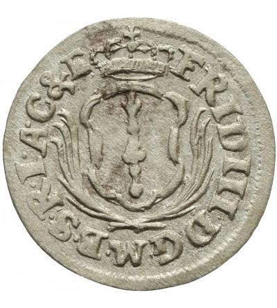 Prusy. Grosz 1700 CG, Królewiec