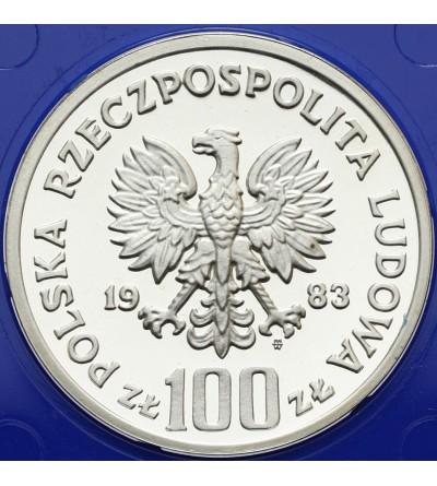 Poland 100 zlotych 1983, bear