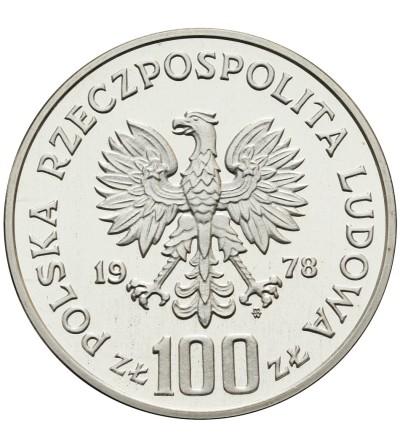 100 złotych 1978, Łoś