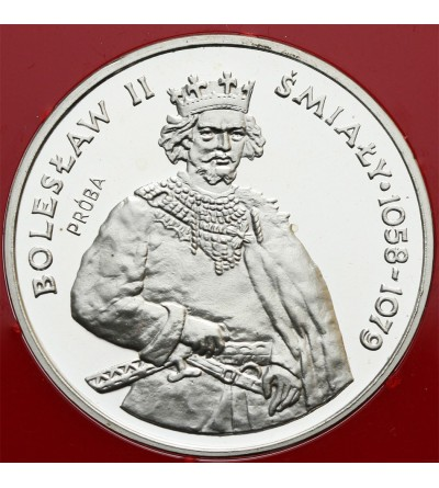 200 złotych 1981, Bolesław II Śmiały - próba