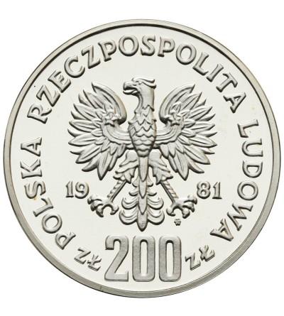 200 złotych 1981, Władysław I Herman - próba