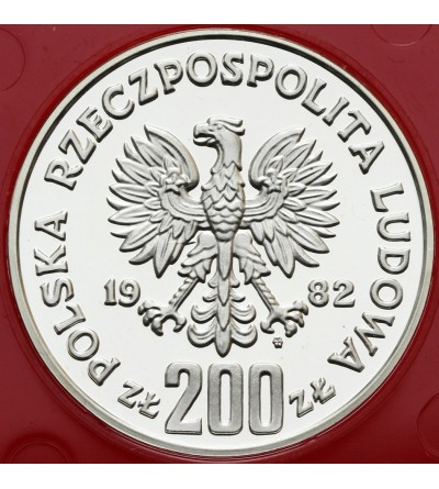 200 złotych 1982, MŚ Hiszpania - próba