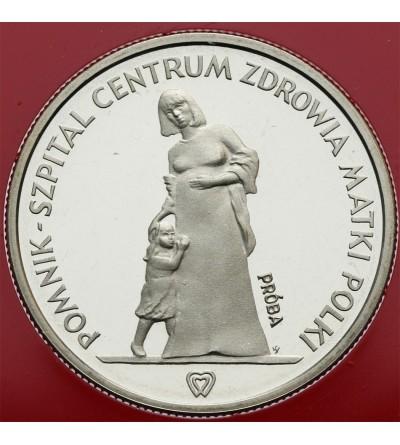 200 złotych 1985, Centrum Zdrowia Matki Polski - próba