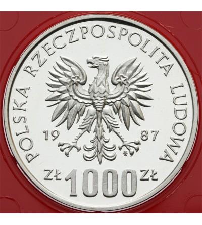 1000 złotych 1987, Kazimierz III Wielki
