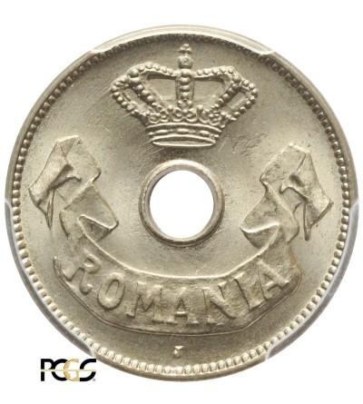 Rumunia 10 Bani 1906 J, PCGS MS 66