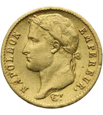 Francja 20 franków 1813 CL Genua