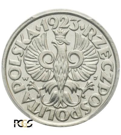 20 groszy 1923, Warszawa - PCGS MS 67