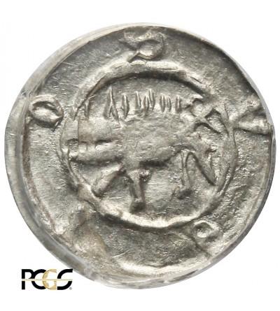 Silesia. Schweidnitz Heller ND, circa 1430, PCGS MS 62