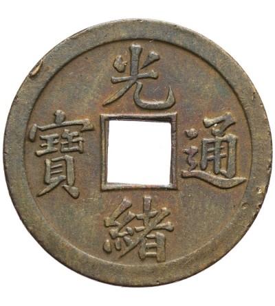 Chiny Kwangtung Cash 1889