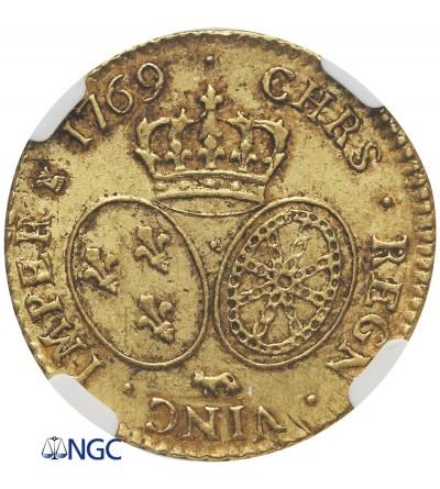 Francja 1 Louis d'or 1769 (krowa), Bearn