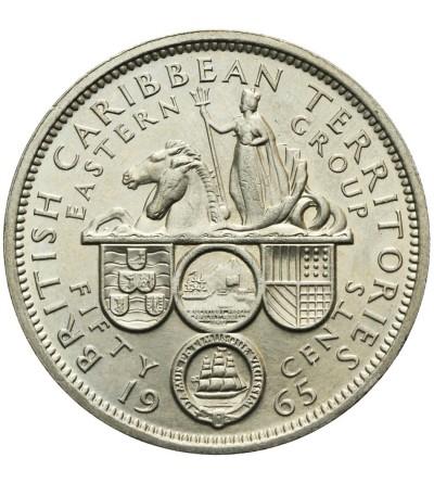 Karaiby Wschodnie 50 centów 1965