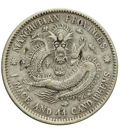 Chiny Manchurian 20 centów 1907 (33 rok)