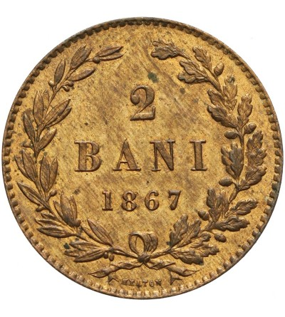 Rumunia 2 Bani 1867