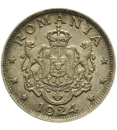 Rumunia 2 lei 1924