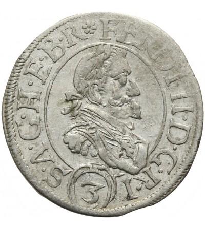 3 krajcary 1629, Sankt Veit
