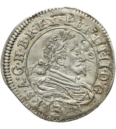3 krajcary 1633, Graz