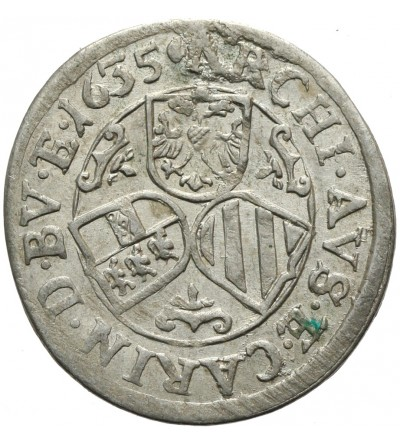 3 krajcary 1635, Sankt Veit