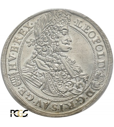 Austria 1/2 talara 1699 Krzemnica