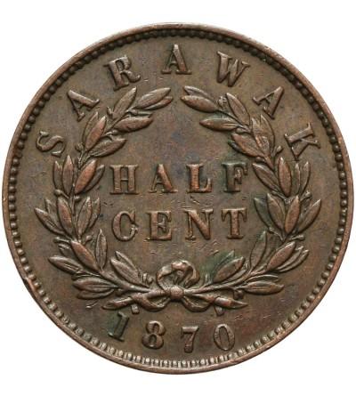 Sarawak 1/2 centa 1870