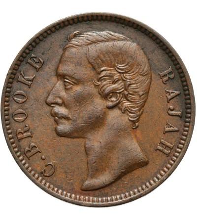 Sarawak 1 cent 1889 H