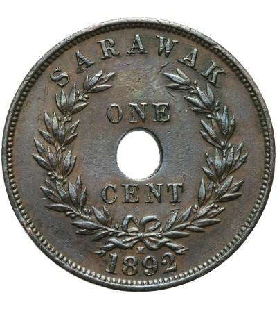 Sarawak 1 cent 1892 H