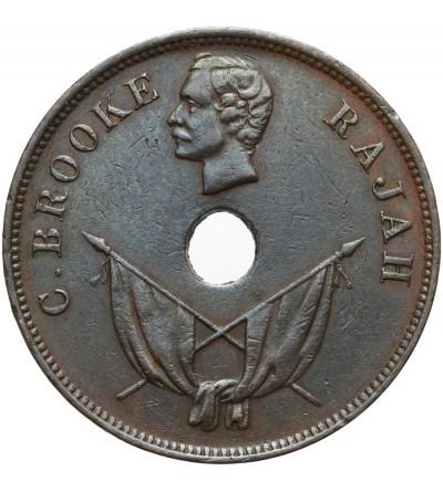 Sarawak 1 cent 1897 H