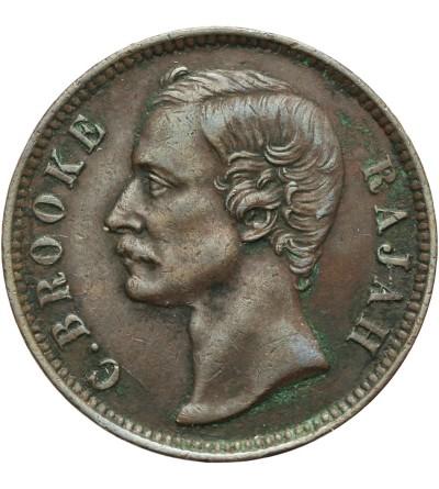 Sarawak 1 cent 1886