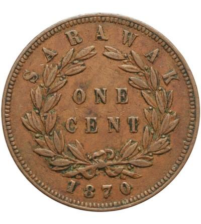 Sarawak 1 cent 1870