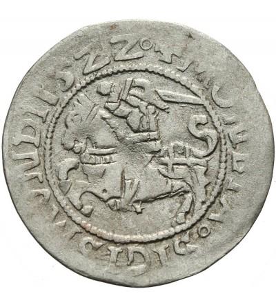 Półgrosz litewski 1522, Wilno