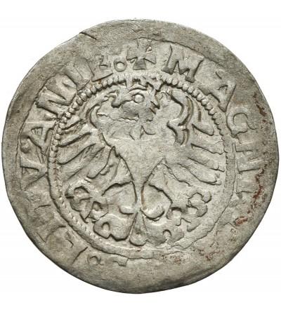 Półgrosz litewski 1519, Wilno