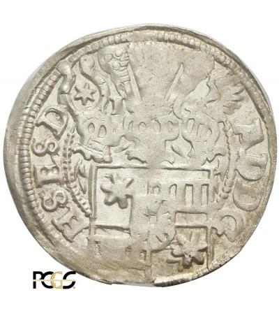 Schleswig-Holstein-Schauenburg 1/24 Taler (Groschen) 1600 - PCGS MS 62